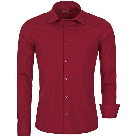 Red Bridge Herren Basic Design Slim Fit Langarm Hemd...
