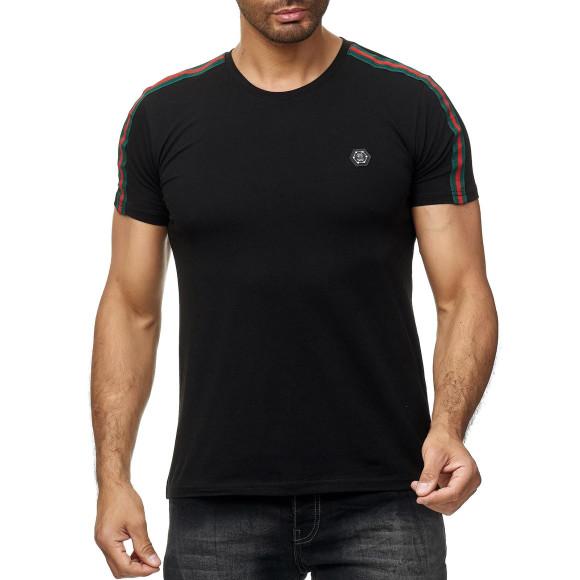 Red Bridge Herren T-Shirt Luxury Line Kurzarm Shirt