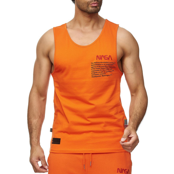 Red Bridge Herren Tank Top T-Shirt NASA Logo USA...