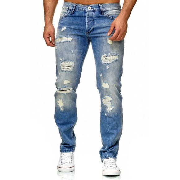 Red Bridge Herren Jeans Hose Destroyed Denim Regular Fit...