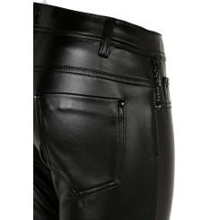 Cipo & Baxx WD350 Damenhose, Damenjeans schwarz