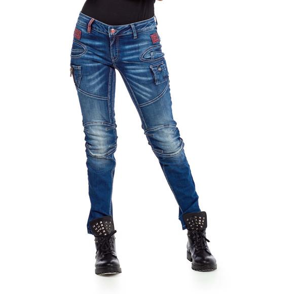 Cipo & Baxx WD358 Damenjeans Frauenjeans Damenhose