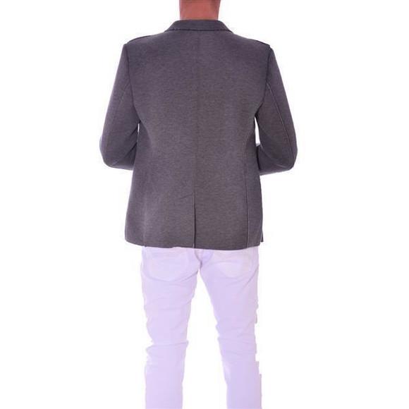 Cipo & Baxx Herren Sakko Jacket grau grey CJ108 S