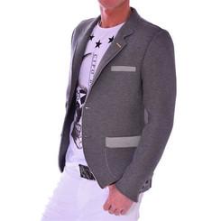 Cipo & Baxx Herren Sakko Jacket grau grey CJ108 M