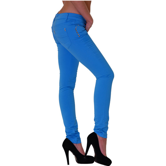 Redbridge Damen Chino Hose BLAU RBW 3009 W28 L34