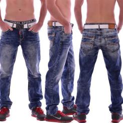 Cipo & Baxx CD 148 Herren Männer blue Jeans Jeanshose Denim Men blau dicke Nähte W33L32