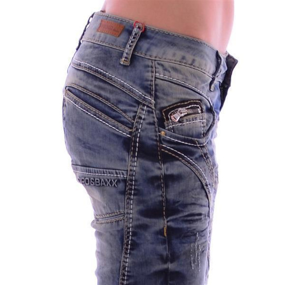 Cipo & Baxx WD 175 Damen Frauen Jeans Jeanshose...