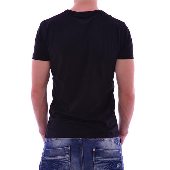 Cipo & Baxx Herren BERLIN T-Shirt CT166 BLACK SCHWARZ
