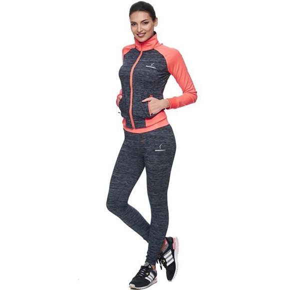 Speedlife by Wasabi Damen Jogger Freizeit fit shape Trikot Sport Trainingsanzug S