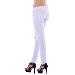 Cipo & Baxx Damen Destroyed WHITE weiß Jeans Hose WD227 W31 L34