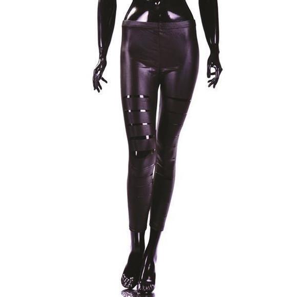 leder leggings damen damen leder stretchhose leggings lamm nappa rus trix damen leggings in. Black Bedroom Furniture Sets. Home Design Ideas