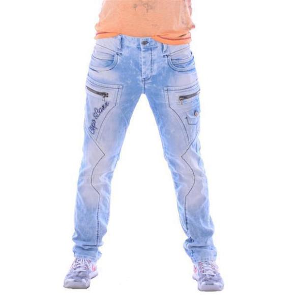 Cipo & Baxx CD 272 Herren Männer Denim Jeans Hose Jeanshose hellblau blau blue