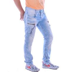 Cipo & Baxx CD 272 Herren Männer Denim Jeans Hose Jeanshose hellblau blau blue W33L32