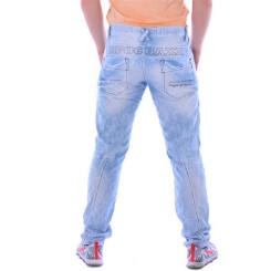 Cipo & Baxx CD 272 Herren Männer Denim Jeans Hose Jeanshose hellblau blau blue W36L32