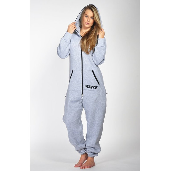 Lazzzy ® Metal Grey Jumpsuit Onesie Overall