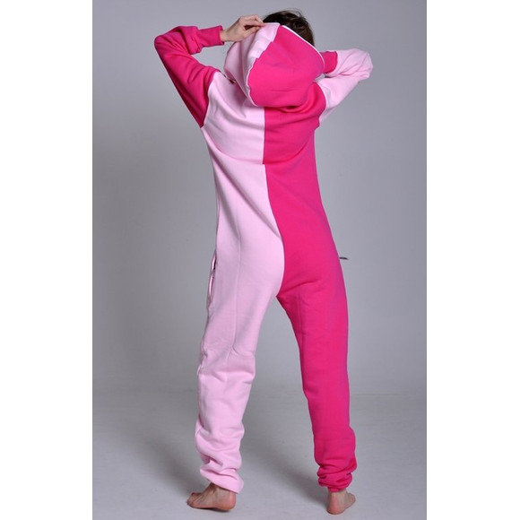 Lazzzy ® Light Pink / Pink Jumpsuit Onesie Overall