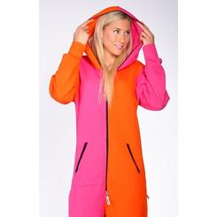 Lazzzy ® Pink / Orange Jumpsuit Onesie Overall
