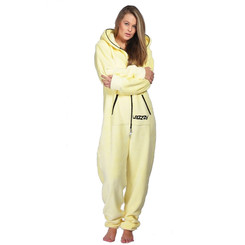 Lazzzy ® Light Yellow Teddy Jumpsuit Onesie Overall