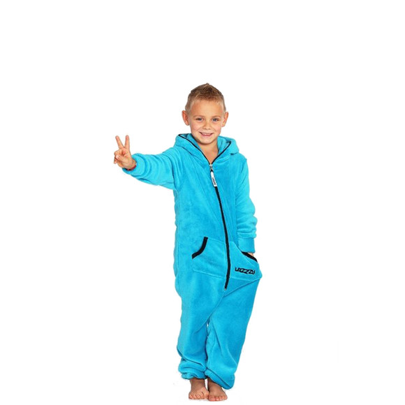 Lazzzy ® Turquoise Teddy Kids Jumpsuit Onesie Overall