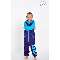 Lazzzy ® Purple Torquoise Kids Jumpsuit Onesie Overall