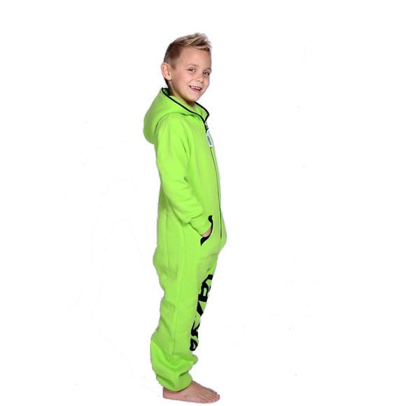 Lazzzy ® Acid Green Kids Jumpsuit Onesie Overall