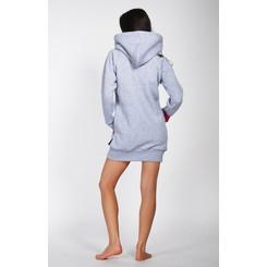 Lazzzy ® ZET Sweat - Hoodie Sweatshirt Grey