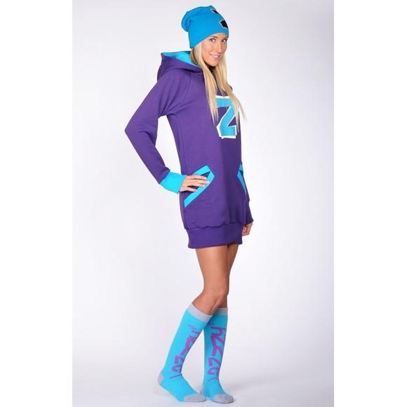 Lazzzy ® ZET Sweat - Hoodie Sweatshirt Purple