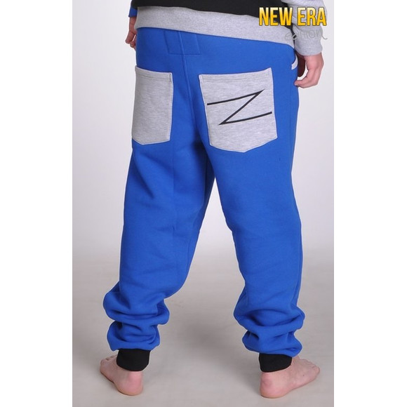 Lazzzy ® NEW ERA - Sweatpants Blue