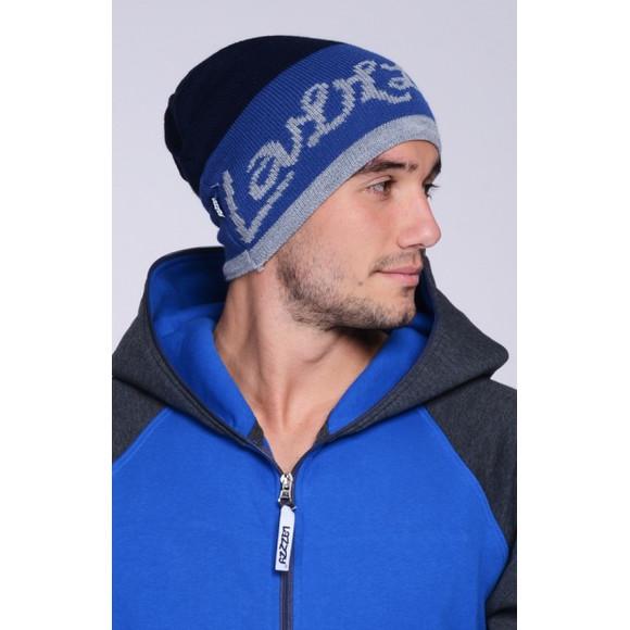 Lazzzy ® TRIO Beanie Navy Blue blau Mütze