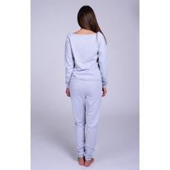 Lazzzy ® SUMMY Heather Grey grau Jumpsuit Onesie Overall