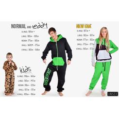Lazzzy ® SUMMY Light Emerald grün Jumpsuit Onesie Overall