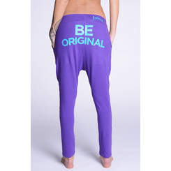 Lazzzy ® COMFY Pants Purple Torquoise türkis lila