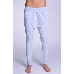 Lazzzy ® COMFY Pants Grey Purple grau lila