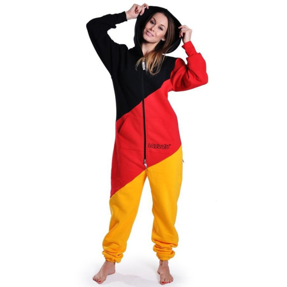 Lazzzy ® LIMITED Germany tricolor Jumpsuit Onesie...