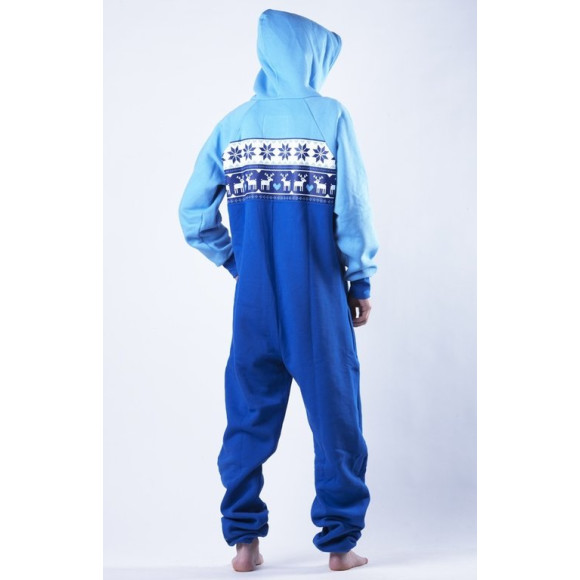 Lazzzy ® LIMITED Jelen Blue Jumpsuit Onesie Overall