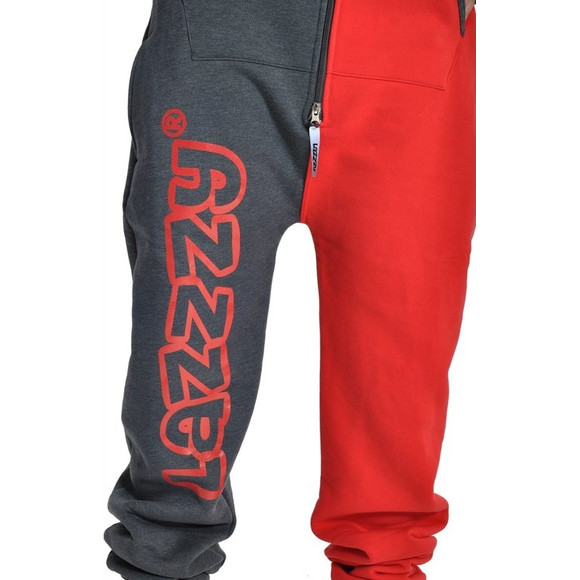 Lazzzy ® Graphite / Red XS