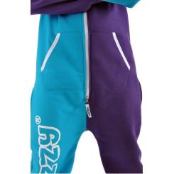 Lazzzy ® Torquoise / Purple XS