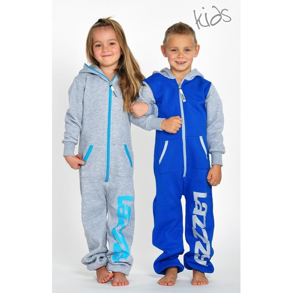 Lazzzy ® Blue / Grey Kids XS