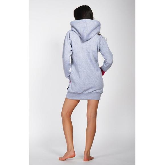 Lazzzy ® ZET Sweat - Hoodie Sweatshirt Grey M