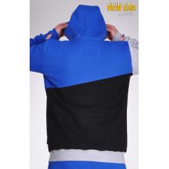 Lazzzy ® NEW ERA - Sweatshirt Blue M