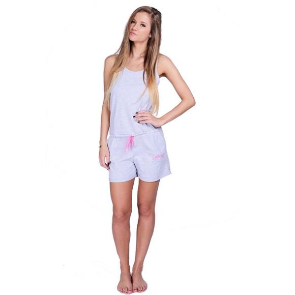 Lazzzy ® Heather Grey SUMMY Short S