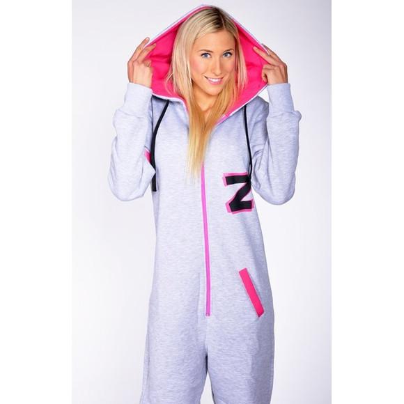 Lazzzy ® Fashion Grey/Pink M