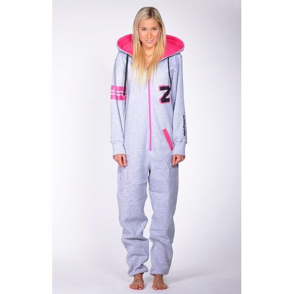 Lazzzy ® Fashion Grey/Pink XL