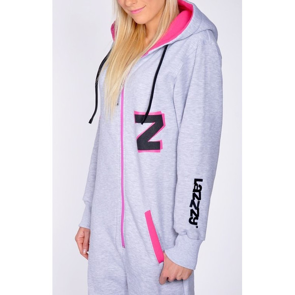 Lazzzy ® Fashion Grey/Pink XS