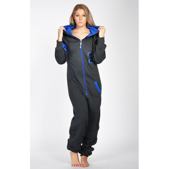 Lazzzy ® Fashion Graphite / Ocean Blue M