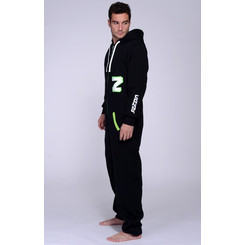 Lazzzy ® Fashion Black / Acid green M