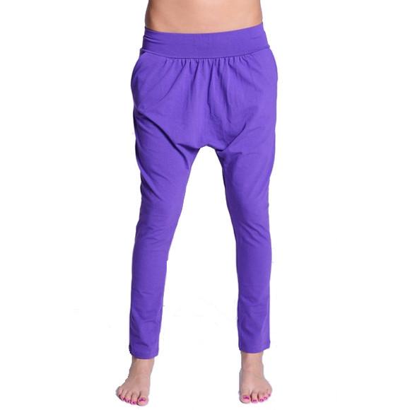 Lazzzy ® COMFY Pants - Purple / Torquoise L