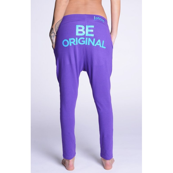 Lazzzy ® COMFY Pants - Purple / Torquoise S