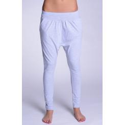 Lazzzy ® COMFY Pants - Grey / Purple M
