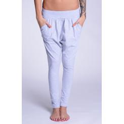 Lazzzy ® COMFY Pants - Grey / Purple S